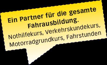 Ein Partner für die gesamte Fahrausbildung - Fahrschule XXL